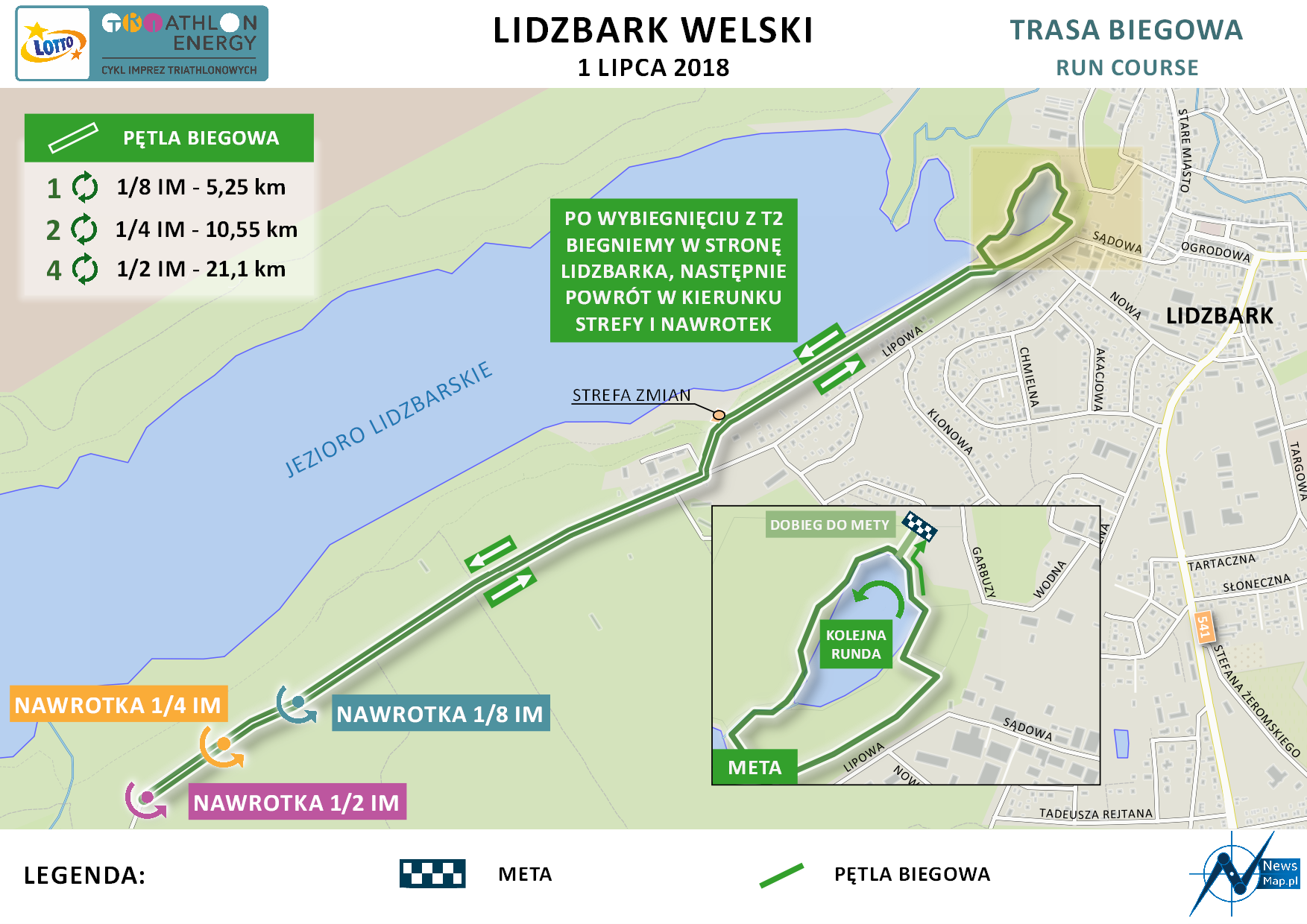 Energy Triathlon Lidzbark Welski 1/8 IM
